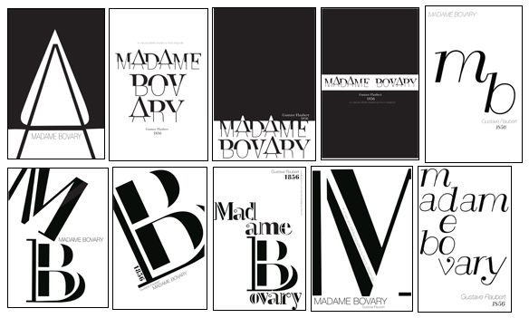 Book Cover Typography Version : Redesign of a book cover portfolio